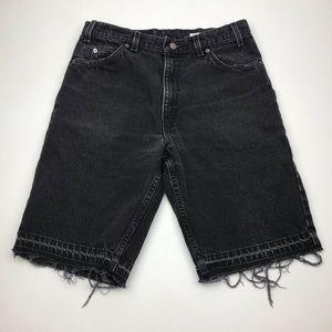 Levi's Shorts - Vintage Levi's 550 Orange Tab Raw Shorts Re/Done